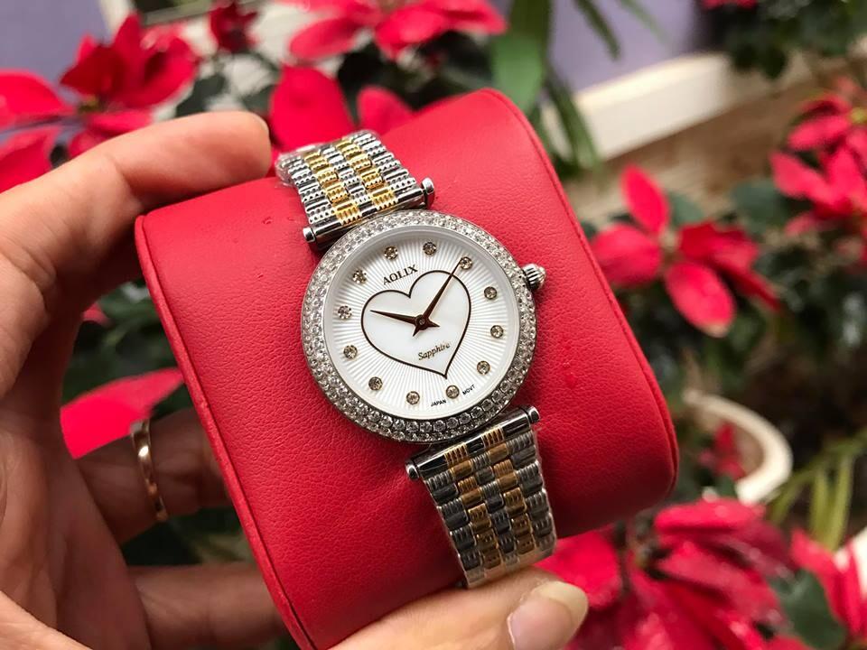 đồng hồ nữ chính hãng aolix al 1020lh - mskt