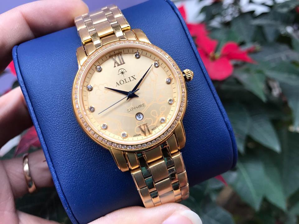 đồng hồ nữ chính hãng aolix al 1022l - mkv   hieutin.com