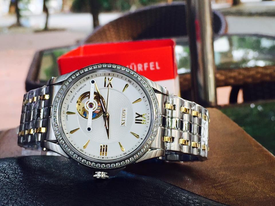 Đồng hồ nam tự động chính hãng Aolix al 3017g - mskt