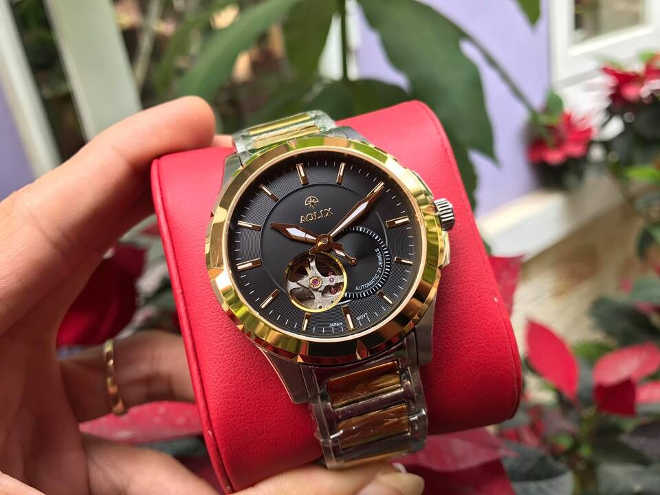 đồng hồ nam tự động chính hãng aolix al 3020M - skd | hieutin.com