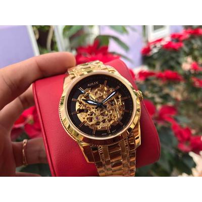 đồng hồ nam tự động chính hãng aolix al 3021m - mkd