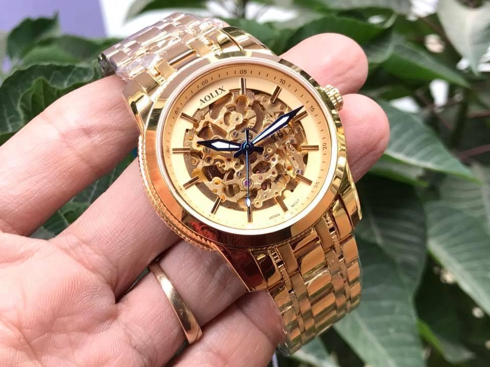 đồng hồ nam tự động chính hãng aolix al 3021m - mkv