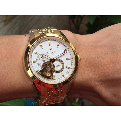Đồng hồ nam tự động chính hãng Aolix al 3042g - mkv
