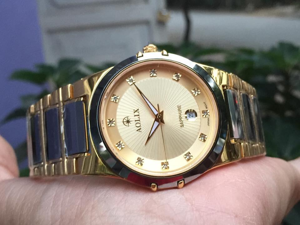 Đồng hồ nam chính hãng Aolix AL 6824G - MCKV