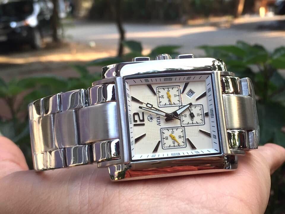Đồng hồ nam chính hãng aolix al 7004g - msst