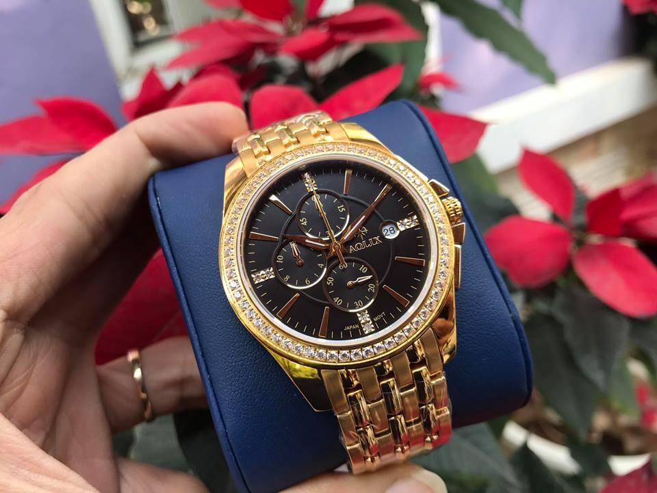đồng hồ nam chính hãng aolix al 7036g - mkd   hieutin.com