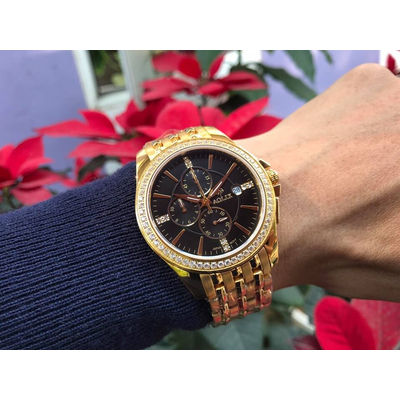 Đồng hồ nam chính hãng aolix al 7036g - mkd