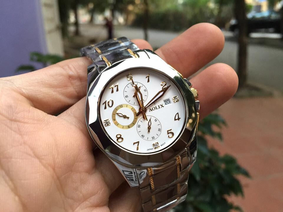 Đồng hồ nam chính hãng Aolix al 7037m - gskt