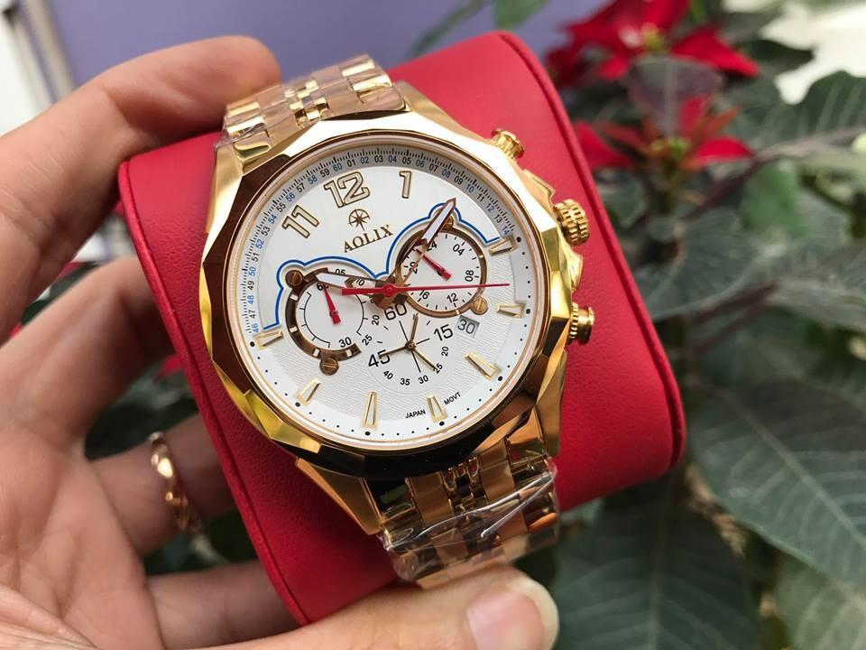 Đồng hồ nam chính hãng aolix al 7052g - mkt