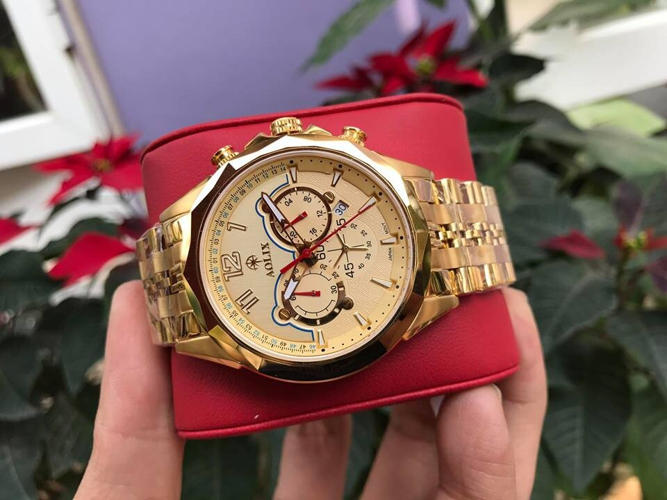 Đồng hồ nam chính hãng aolix al 7052g - mkv