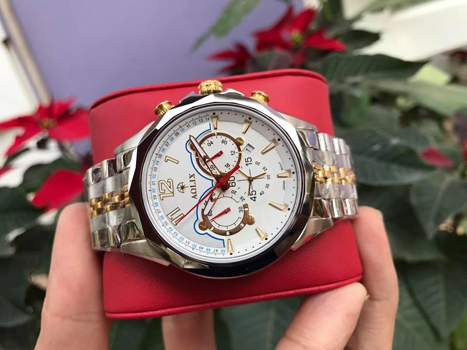 Đồng hồ nam chính hãng aolix al 7052g - mskt