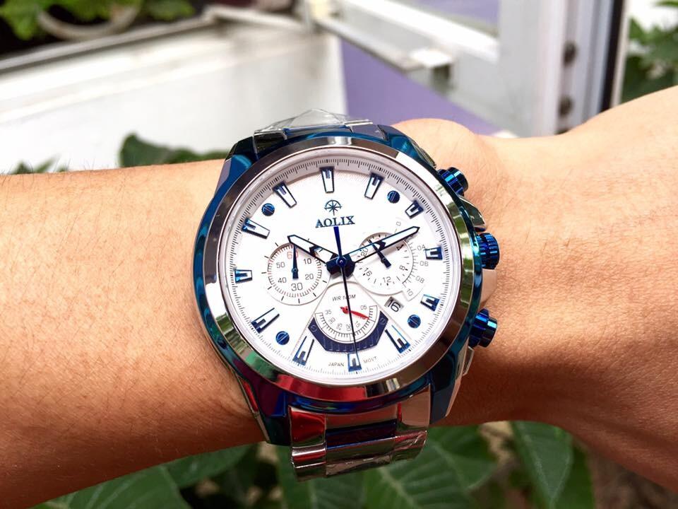 Đồng hồ nam chính hãng Aolix al 7054g - msxt