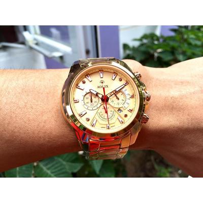Đồng hồ nam chính hãng Aolix al 7054g - mkv