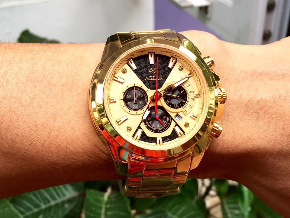 Đồng hồ nam chính hãng Aolix al 7054g - mkvd