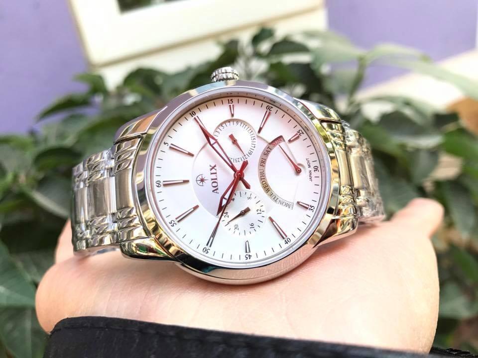 Đồng hồ nam chính hãng aolix al 7061g - msst