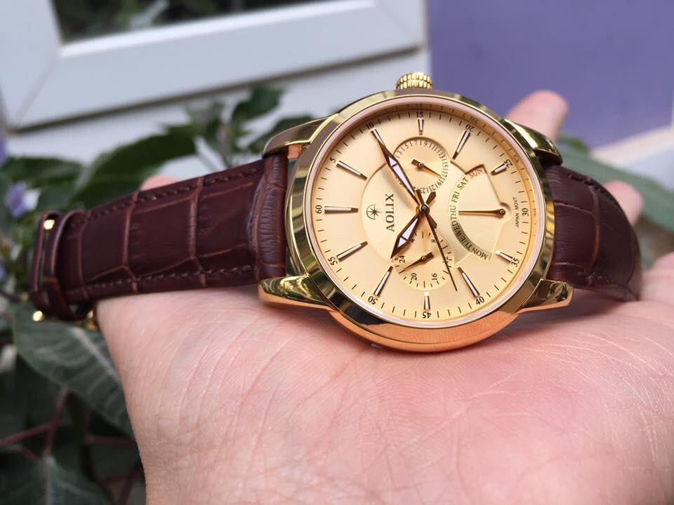 đồng hồ nam chính hãng aolix al 7061g - mlkv