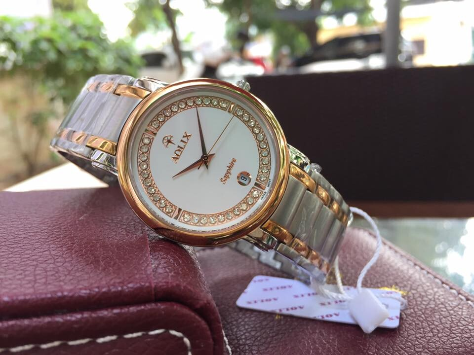Đồng hồ nam chính hãng Aolix al 9035m - skrt