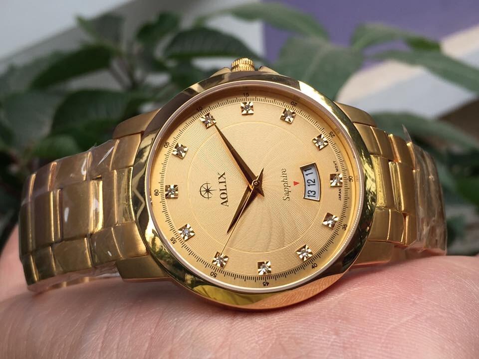 Đồng hồ nam chính hãng aolix al 9055m - gkv