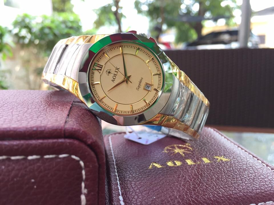 Đồng hồ nam chính hãng Aolix al 9066m-gskv