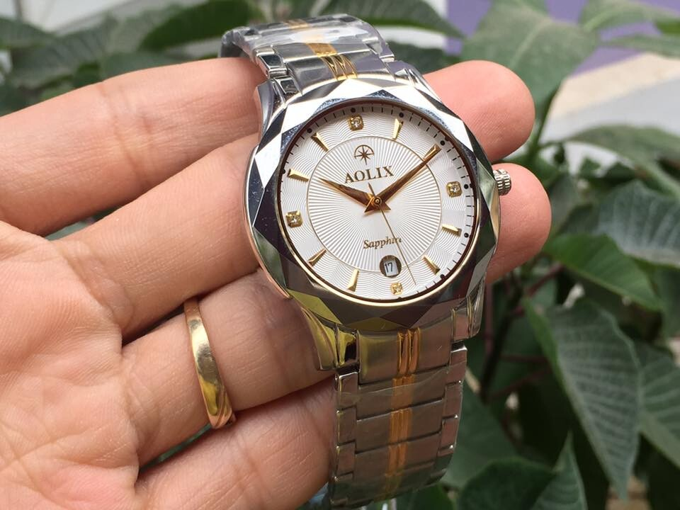Đồng hồ nam chính hãng Aolix AL-9080M-SG9A