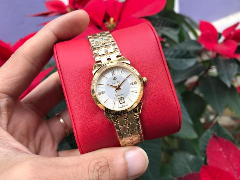 Đồng hồ nữ chính hãng Aolix al 9094l - mkt