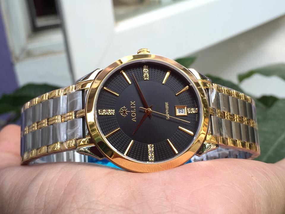 Đồng hồ nam chính hãng Aolix al 9094g - mskd