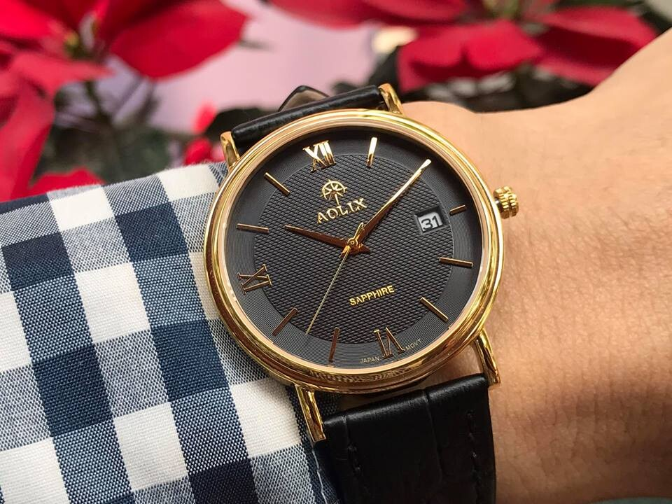 đồng hồ nam chính hãng aolix al 9100g - mlkd   hieutin.com