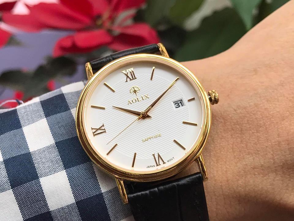 đồng hồ nam chính hãng aolix al 9100g - mlkt | hieutin.com