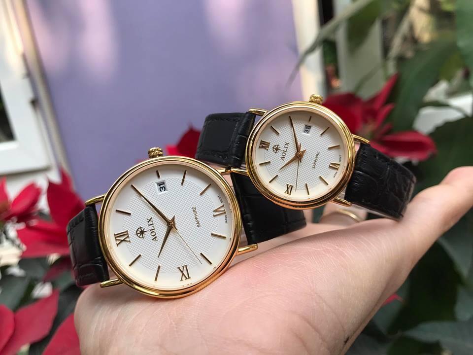 đồng hồ cặp đôi chính hãng aolix al 9100 - mlkt | hieutin.com