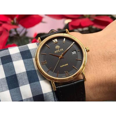 Đồng hồ cặp đôi chính hãng aolix al 9100 - mlkd
