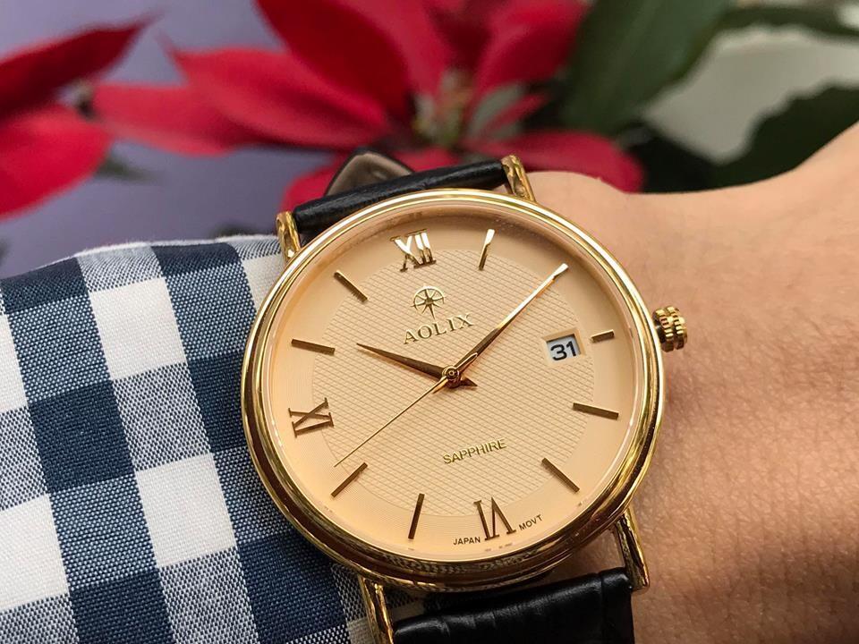 Đồng hồ nam chính hãng aolix al 9100g - mlkv