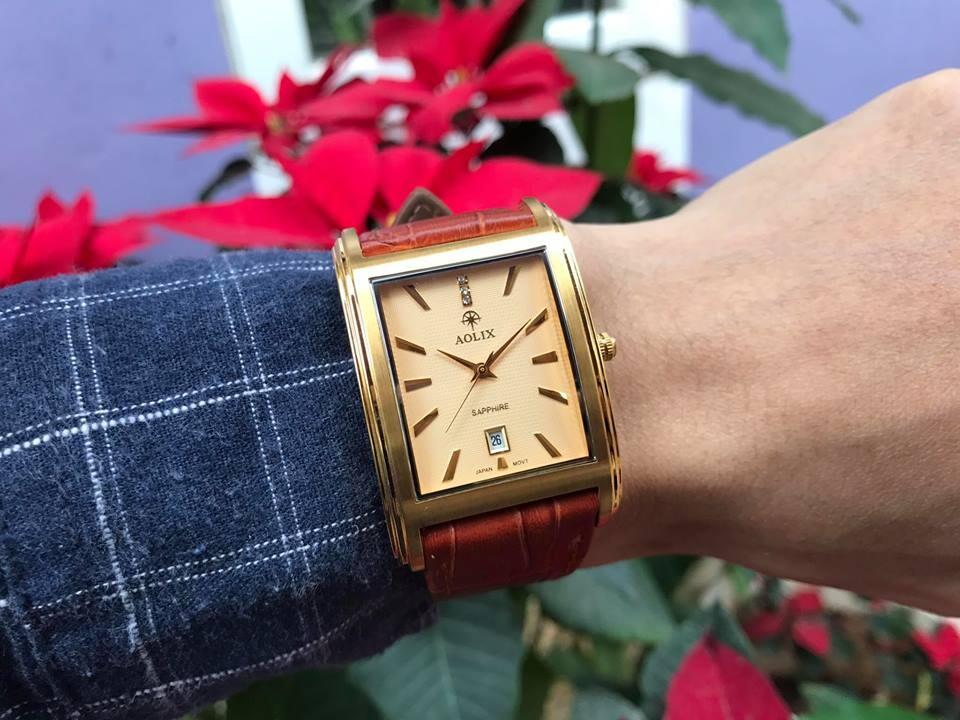 Đồng hồ nam chính hãng aolix al 9120g - mlkv