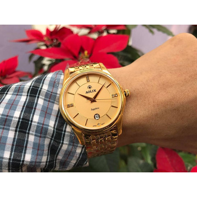 Đồng hồ nam chính hãng Aolix al 9134g - mkv