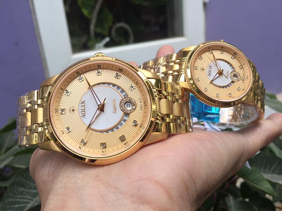Đồng hồ cặp đôi chính hãng Aolix AOLIX AL 9136G - MKV