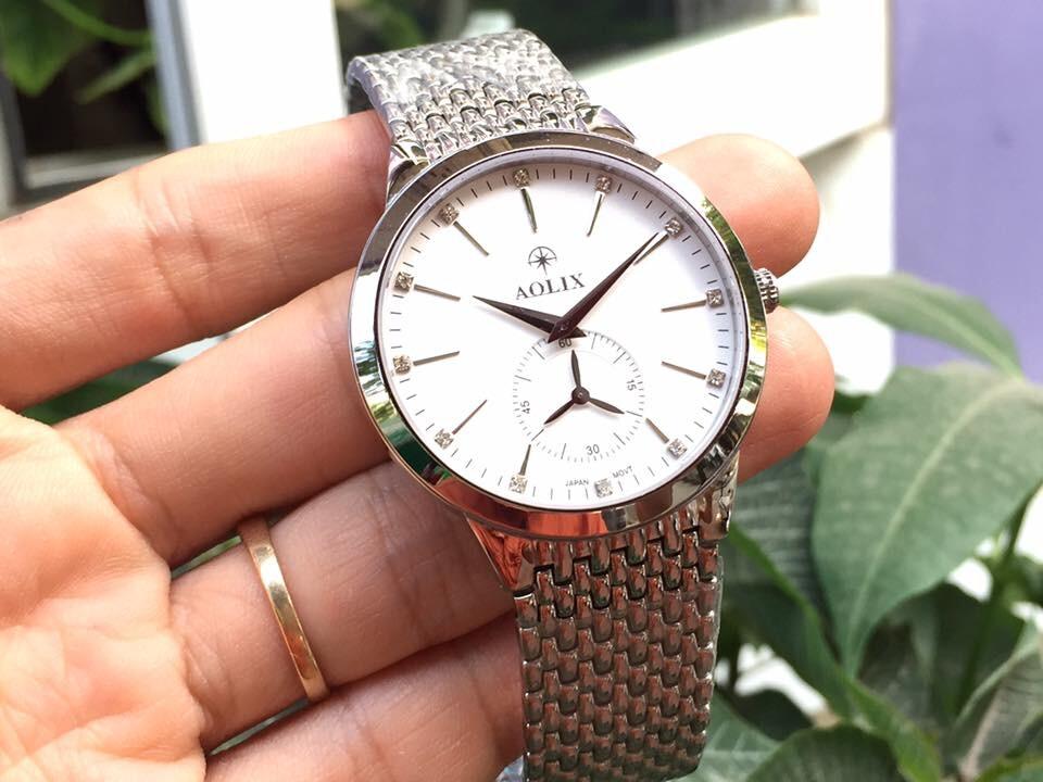 Đồng hồ nam chính hãng Aolix al 9139g - msst