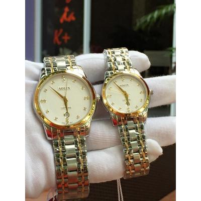 Đồng hồ cặp đôi chính hãng Aolix AL 9140L - SG7A