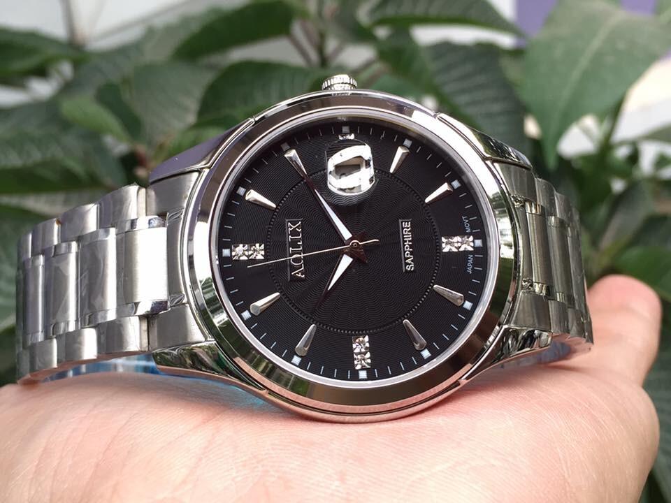 đồng hồ nam chính hãng aolix al 9143g - msst