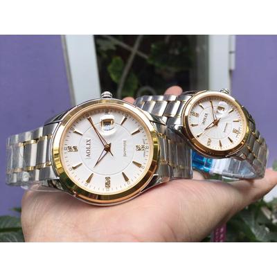 đồng hồ cặp đôi chính hãng aolix al 9143 - mskt