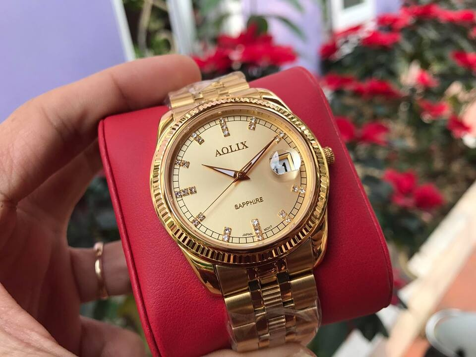 Đồng hồ nam chính hãng Aolix al 9145g - mkv