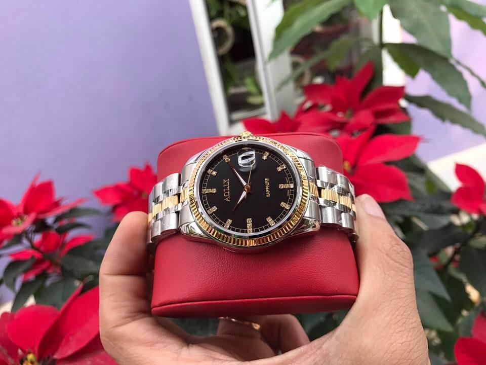 Đồng hồ cặp đôi chính hãng aolix al 9145 - mskd