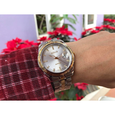 Đồng hồ nam chính hãng Aolix al 9145g - mskt