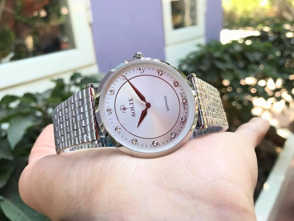 Đồng hồ nam chính hãng Aolix al 9152g - msst