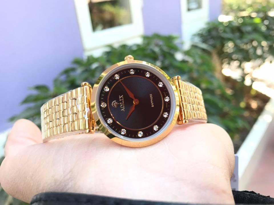 đồng hồ nữ chính hãng aolix al 9152l - mkd