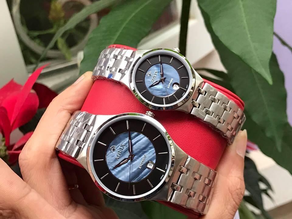 đồng hồ đôi aolix al 9154