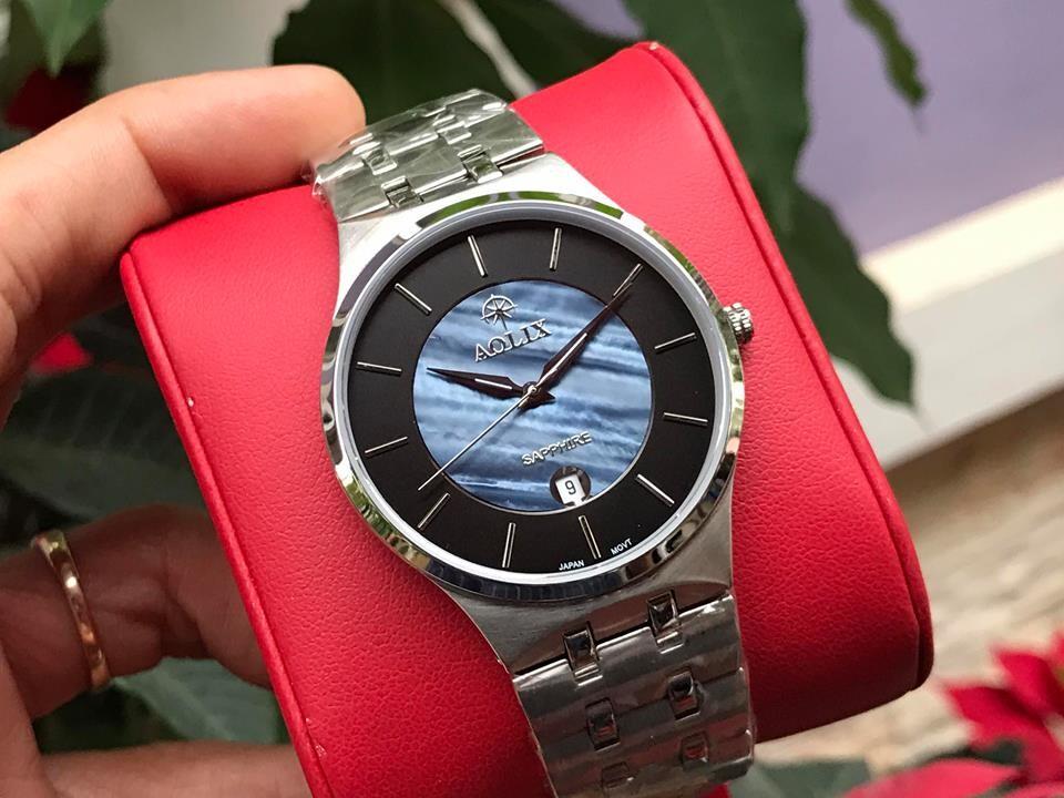 đồng hồ nam chính hãng aolix al 9154g - mssd