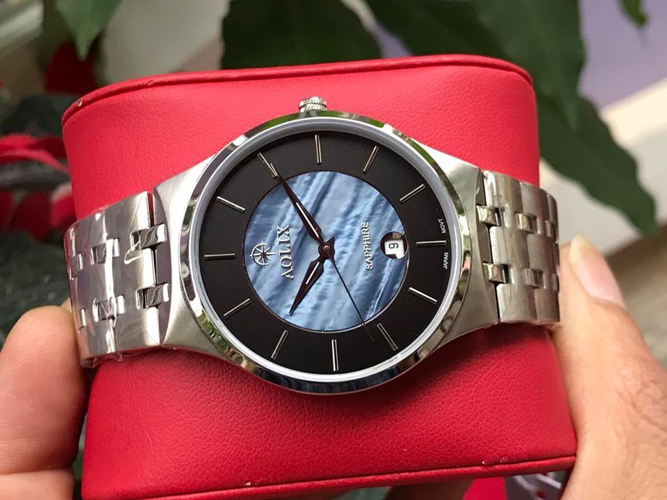 đồng hồ cặp đôi chính hãng aolix al 9154 - mssd