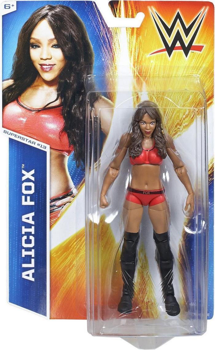 WWE ALICIA FOX - SERIES 47 (ĐÃ KHUI HỘP TRƯNG BÀY Ở SHOP)