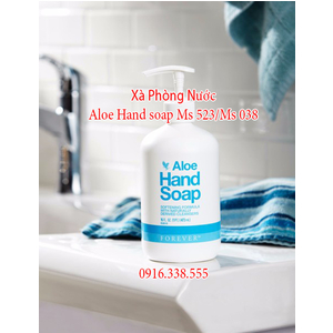 Xà Phòng Nước Aloe Hand soap Ms Mới 523/ Ms cũ 038