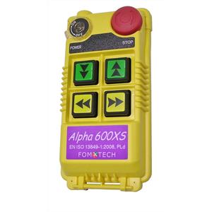 Alpha 600XS, đại lý phân phối Fomotech vietnam, bộ điều khiển từ xa Fomotech Vietnam