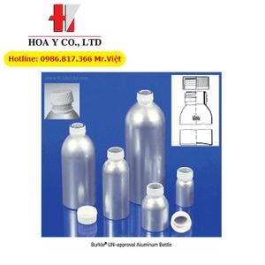 Chai lưu mẫu, chứa hóa chất bằng nhôm Burkle